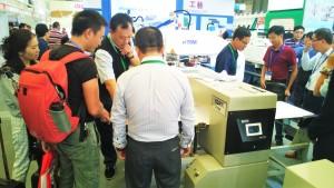 A customer demonstration